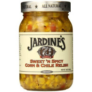 Jardines, Salsa Corn Relish Swt&Spi, 16 Oz, (Pack Of 6)