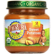 Earths Best, Potato Strained Sweet Org, 4 Oz, (Pack Of 10)