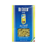 De Cecco, Pasta Fusilli, 16 Oz, (Pack Of 12)