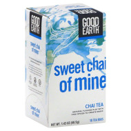 Good Earth, Tea Chai Of Mine, 18 Bg, (Pack Of 6)