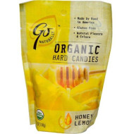 Go Organic, Candy Honey Lemon Org, 3.5 Oz, (Pack Of 6)