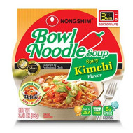Nong Shim, Soup Bowl Ndle Kimchi Spc, 3.03 Oz, (Pack Of 12)