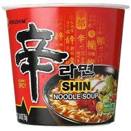 Nong Shim Soup Cup Noodle Shin , Size 2.64 Oz , (Pack Of 6)