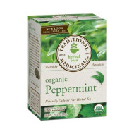 Traditional Medicinals, Tea Peppermint Org, 16 Bg, (Pack Of 6)