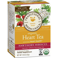 Traditional Medicinals, Tea Heart W Hawthorn, 16 Bg, (Pack Of 6)