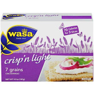 Wasa, Crispbread 7Grn Lte, 4.9 Oz, (Pack Of 10)