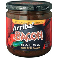 Arriba, Salsa Bacon, 16 Oz, (Pack Of 6)