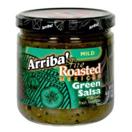 Arriba, Salsa Grn Mild, 16 Oz, (Pack Of 6)