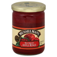 Musselman, Apple Rings Spiced, 14.5 Oz, (Pack Of 12)