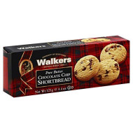 Walkers, Shortbread Chcchp, 4.4 Oz, (Pack Of 12)