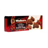 Walkers, Shortbread Scot Dog Choco, 3.9 Oz, (Pack Of 12)