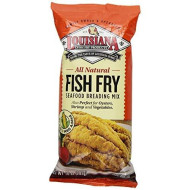 Louisiana, Mix Fish Fry All Ntrl, 10 Oz, (Pack Of 12)