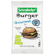 Seitenbacher, Mix Vgtrn Burger Gourmet, 3.5 Oz, (Pack Of 10)