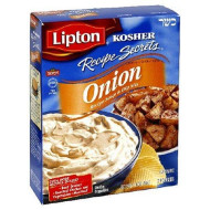Lipton - Kosher, Soup Recipe Secret Onion, 1.9 Oz, (Pack Of 12)