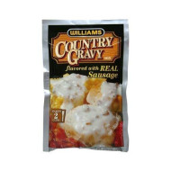 Williams, Mix Gravy Cntry W Sausage, 2.5 Oz, (Pack Of 12)