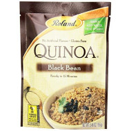 Roland, Quinoa Blck Bean, 5.46 Oz, (Pack Of 6)