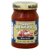Mrs Renfro, Salsa Picante Mild, 16 Oz, (Pack Of 6)