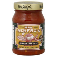 Mrs Renfro, Salsa Chipotle Corn, 16 Oz, (Pack Of 6)