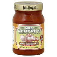Mrs Renfro, Salsa Habanero Mango, 16 Oz, (Pack Of 6)