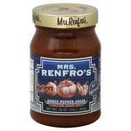 Mrs Renfro, Salsa Ghost Pppr, 16 Oz, (Pack Of 6)