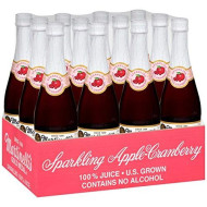 Martinelli, Juice Sprklng Apple Crnbry, 25.4 Fo, (Pack Of 12)