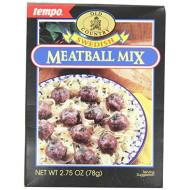 Tempo, Mix Ssnng Meatball Swedish, 2.75 Oz, (Pack Of 12)