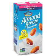 Blue Diamond, Bev Almond Vanla Unswtned, 64 Fo, (Pack Of 8)