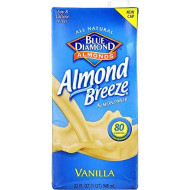 Blue Diamond, Bev Almond Brze Vnla, 32 Fo, (Pack Of 12)