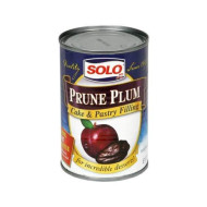 Solo, Filling Prune, 12 Oz, (Pack Of 6)