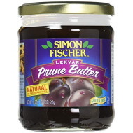 Simon Fischer, Fruit Bttr Prune Lekvar, 18 Oz, (Pack Of 6)