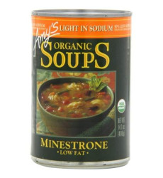 Amys, Soup Minestrone Ls, 14.1 Oz, (Pack Of 12)
