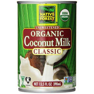 Native Forest, Coconut Milk Org, 13.5 Fo, (Pack Of 12)