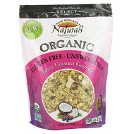 New England Natural, Granola Gf Unswtn Bry Ccn, 12 Oz, (Pack Of 6)
