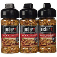 Weber, Ssnng Kick N Chkn, 2.5 Oz, (Pack Of 6)