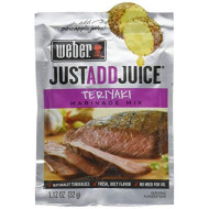 Weber, Marinade Teriyaki Jaj, 1.12 Oz, (Pack Of 12)