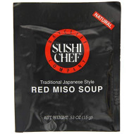 Sushi Chef, Soup Miso Red, 0.53 Oz, (Pack Of 12)