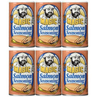 Magic Seasoning Blends, Ssnng Salmon, 7 Oz, (Pack Of 6)