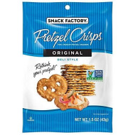 Snack Factory, Pretzel Crisp Orgnl, 1.5 Oz, (Pack Of 24)