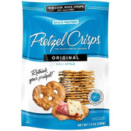 Snack Factory, Pretzel Crisp Orginial, 7.2 Oz, (Pack Of 12)