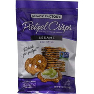 Snack Factory, Pretzel Crisp Sesame, 7.2 Oz, (Pack Of 12)