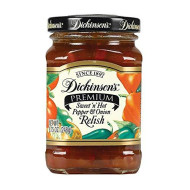 Dickinson, Relish Swt & Hot, 8.75 Oz, (Pack Of 6)