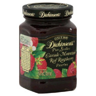Dickinson, Preserve Red Raspbry Sdls, 10 Oz, (Pack Of 6)