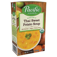 Pacific Foods, Soup Rte Thai Sweet Pto, 17 Oz, (Pack Of 12)