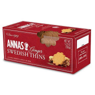Annas, Cookie Thin Gngr, 5.25 Oz, (Pack Of 12)