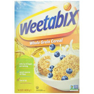 Weetabix, Cereal Whl Wheat Ntrl, 14 Oz, (Pack Of 12)