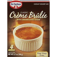 Dr Oetker, Mix Crm Brulee, 3.7 Oz, (Pack Of 12)