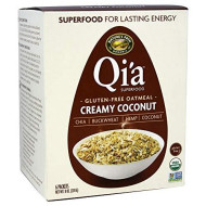 Natures Path, Oatmeal Qia Coconut, 8 Oz, (Pack Of 6)