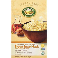 Natures Path, Cereal Hot Gf Brw Sgr Mpl, 11.3 Oz, (Pack Of 6)