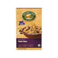 Natures Path, Cereal Flk Flax Plus Rsn, 14 Oz, (Pack Of 12)