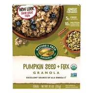Natures Path, Granola Flax Plus W Pmpkn Sd O, 11.5 Oz, (Pack Of 12)